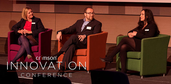 Crimson-Innovation-Conference-2018_Louise-Clarke-Mark-Lockton-Goddard-Caisha-Sheikh
