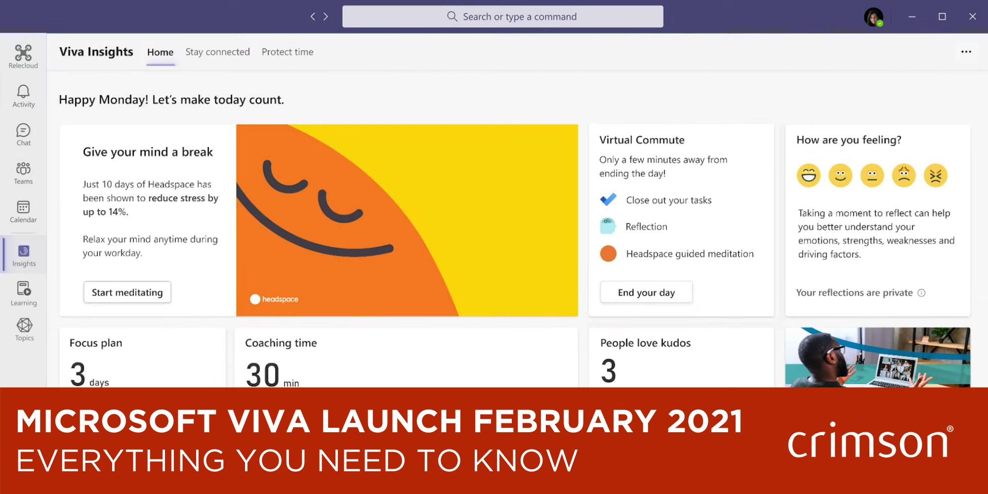 Microsoft Viva Launch Blog